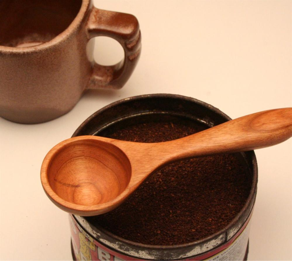 Wooden coffee scoop and measuring spoon 1 tablespoon on luulla for 1 tablespoon measure
